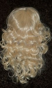 Other - 💋Real Hair Platinum Blonde Wig